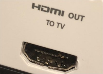 Xbox One HDMi poort